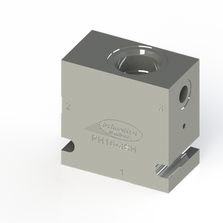 """STEEL HOUSING TO SUIT COMMON C-16-3S WITH 1"""" BSP PORTS"""
