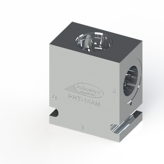 """ALUMINIUM HOUSING TO SUIT SUN HYDRAULICS CAVITY T-16A WITH 1"""" BSP PORTS"""