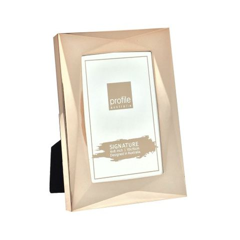 ROMANZO ROSE GOLD 4X6 FRAME