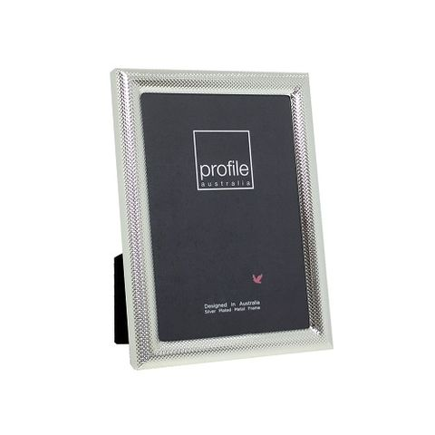 ISABELLA - SILVER PLATED FRAME - 4X6