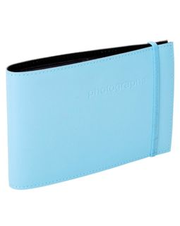 CITI LEATHER 4X6 ALBUM BABY BLUE