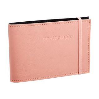 CITI LEATHER 4X6 ALBUM DUSTY ROSE