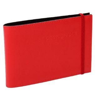CITI LEATHER 4X6 ALBUM RED