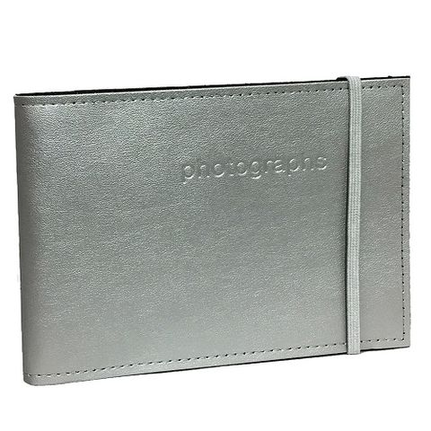 CITI LEATHER SILVER 5X7 60PHT