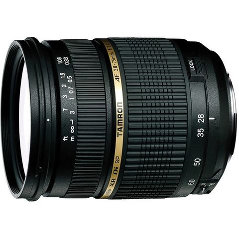 TAMRON SP 28-75MM F2.8 XR DI LD CANON