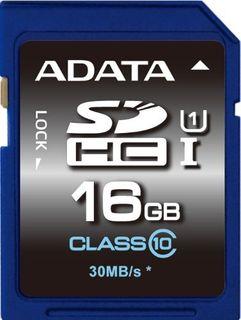 ADATA 16GB SDHC CARD CLASS 10 UHS-1 V10
