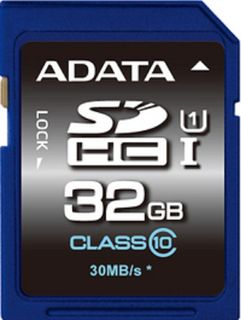 ADATA 32GB SDHC CARD CLASS 10 UHS-1 V10