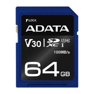 ADATA 64GB SDXC CARD CLASS 10 UHS-3 V30S