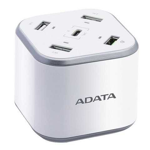 ADATA USB-A USB-C QUALCOMM QC3.0 CHARGING STATION
