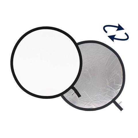 REFLECTOR SILVER/WHITE 95CM