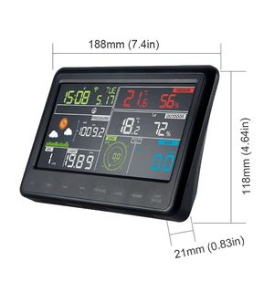 TESA WS2980C PRO WEATHER STATION