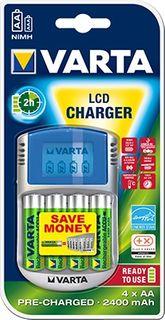 VARTA 2 HOUR CHARGER LCD AA AAA