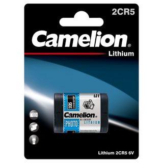 CAMELION 2CR5 6V LITHIUM PHOTO 1PK