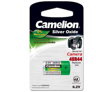 CAMELION 4SR44 6.2V SILVER OXIDE 1PK