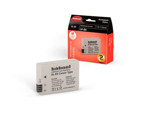 HAHNEL HL-E8 BATTERY CANON LP-E8 COMPATIBLE