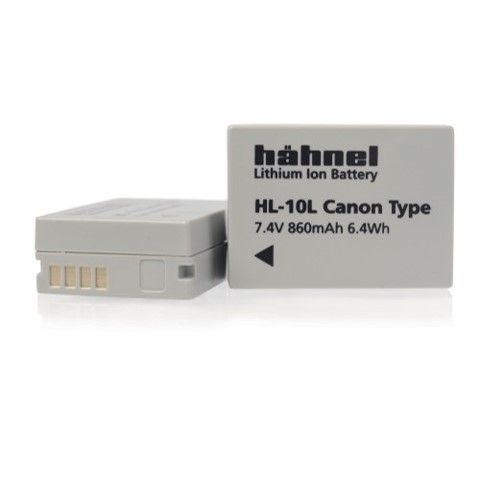 HAHNEL HL-10L CANON COMPATIBLE BATTERY NB-10L SINGLE PACK