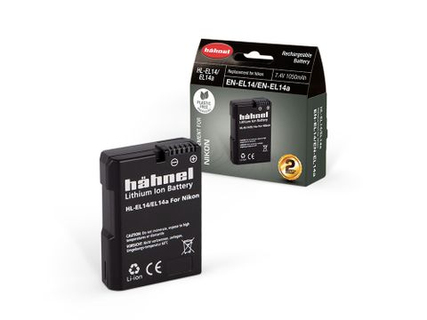 HAHNEL HL-EL14 NIKON COMPATIBLE BATTERY EN-EL14 SINGLE PACK