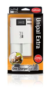 HAHNEL UNIPAL EXTRA UNIVERSAL CHARGER+ POWERBNK