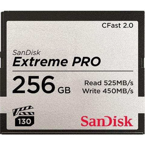 SANDISK CFAST 2.0 256GB VPG130 525MB/S