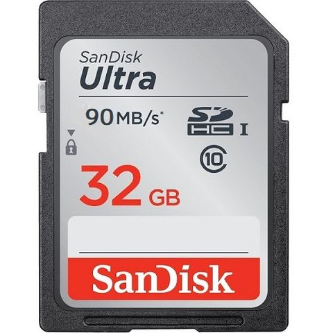 SANDISK ULTRA SDHC 32GB C10 UHS-1 90MB/S