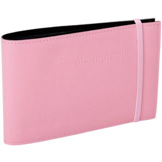 CITI LEATHER 4X6 ALBUM BABY PINK