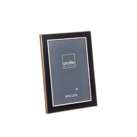 ETERNAL BLACK/ROSE GOLD 4X6 FRAME
