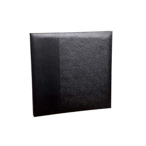 ALBUM SELF ADHESIVE BLACK 375X300