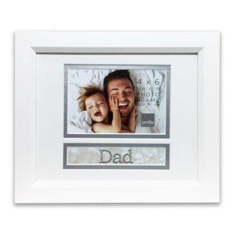 OCCASIONS DAD 8X10/4X6 FRAME
