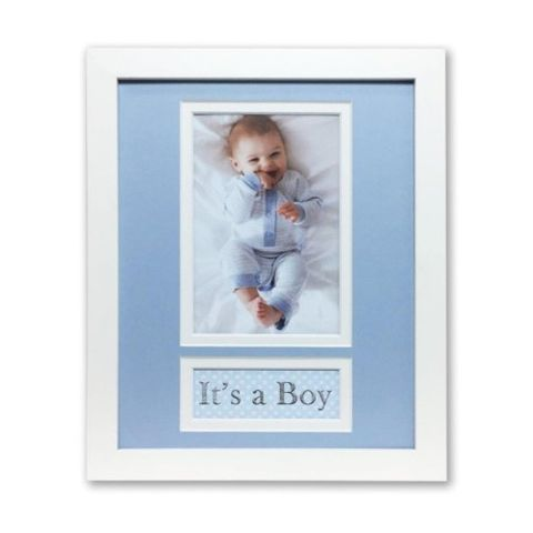 OCCASIONS BOY 8X10/4X6 VERTICAL FRAME