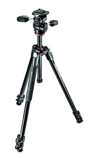 MANFROTTO 290 XTRA ALU 3 SECTION 3 WAY HEAD KIT