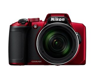 NIKON COOLPIX B600 60X SUPER ZOOM COMPACT CAMERA RED