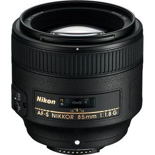 NIKKOR AF-S FX 85MM F1.8G TELEPHOTO PRIME LENS