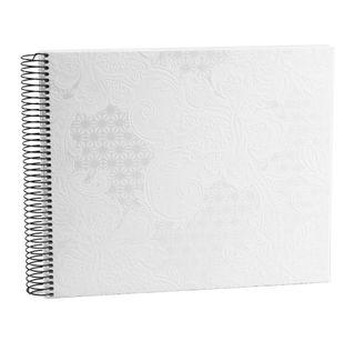GOLDBUCH SAKURA SPIRAL DRYMOUNT WHITE 300X250MM 40 PAGES