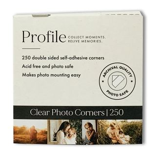 PROFILE PHOTO CORNERS PACK OF 250