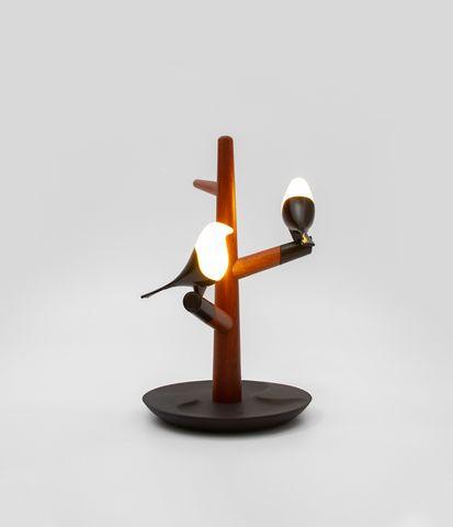 MASDIO HOMETREE Q2 BLACK LAMP WITH WIRELESS CHARGER