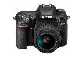 NIKON D7500 DSLR WITH AF-P 18-55MM VR LENS