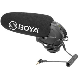 BOYA ON-CAMERA SUPERCARDIOID SHOTGUN MICROPHONE
