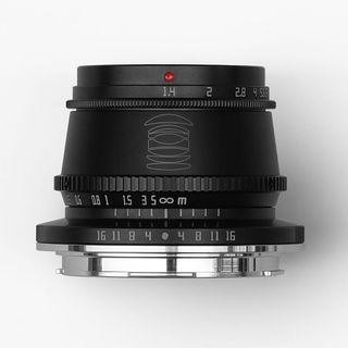 TTARTISAN 35MM F1.4 APS-C L MOUNT BLACK