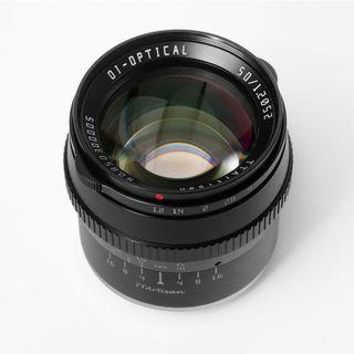 TTARTISAN 50MM F1.2 APS-C FUJI X BLACK