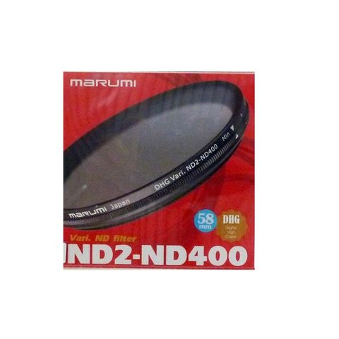 MARUMI VARI ND2 - ND400 58mm DHG