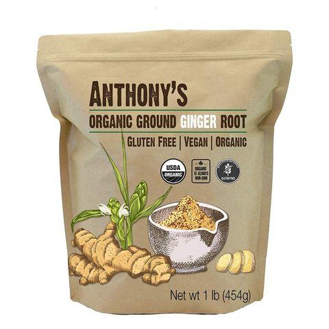 Anthony's Goods Premium Organic Ginger Root Powder
