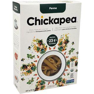 CHICKAPEA ORGNC PASTA PENNE 227G