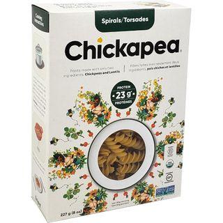CHICKAPEA ORGNC PASTA SPIRAL 227G