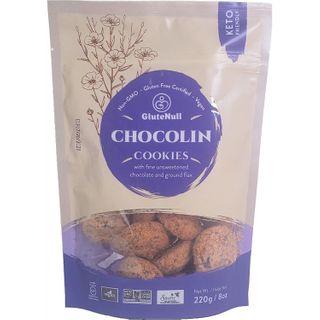 GLUTENULL KETO COOKIES CHOCOLIN 220G