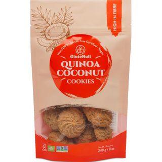 GLUTENULL COOKIES QUINOA COCONUT 240G