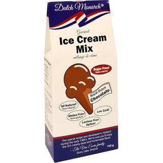 DUTCH MONARCH ICE CREAM MIX CHOCOLATE 150G