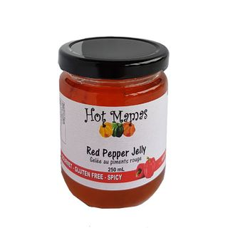 HOT MAMAS JELLY RED PEPPER 250ML