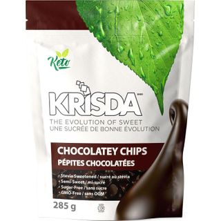 KRISDA SEMI SWEET CHOCOLATEY CHIPS 285G
