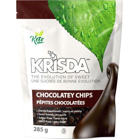 Krisda No Sugar Added Semi Sweet Chocolatey Chips