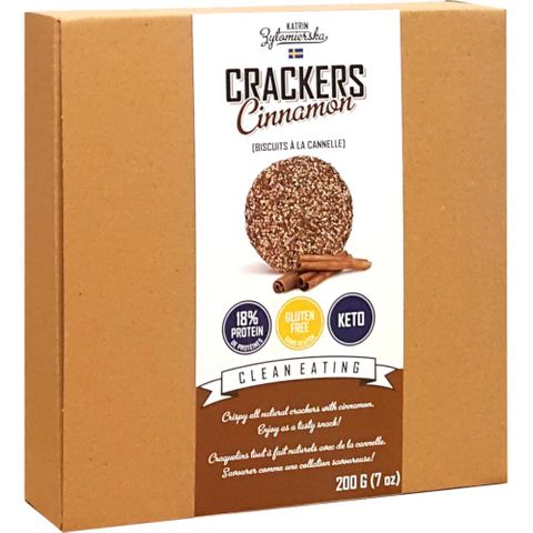 KZ Clean Eating High Fibre Scandinavian Crackers